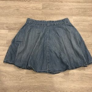 Levi's Flare Denim Mini Skirt Size M